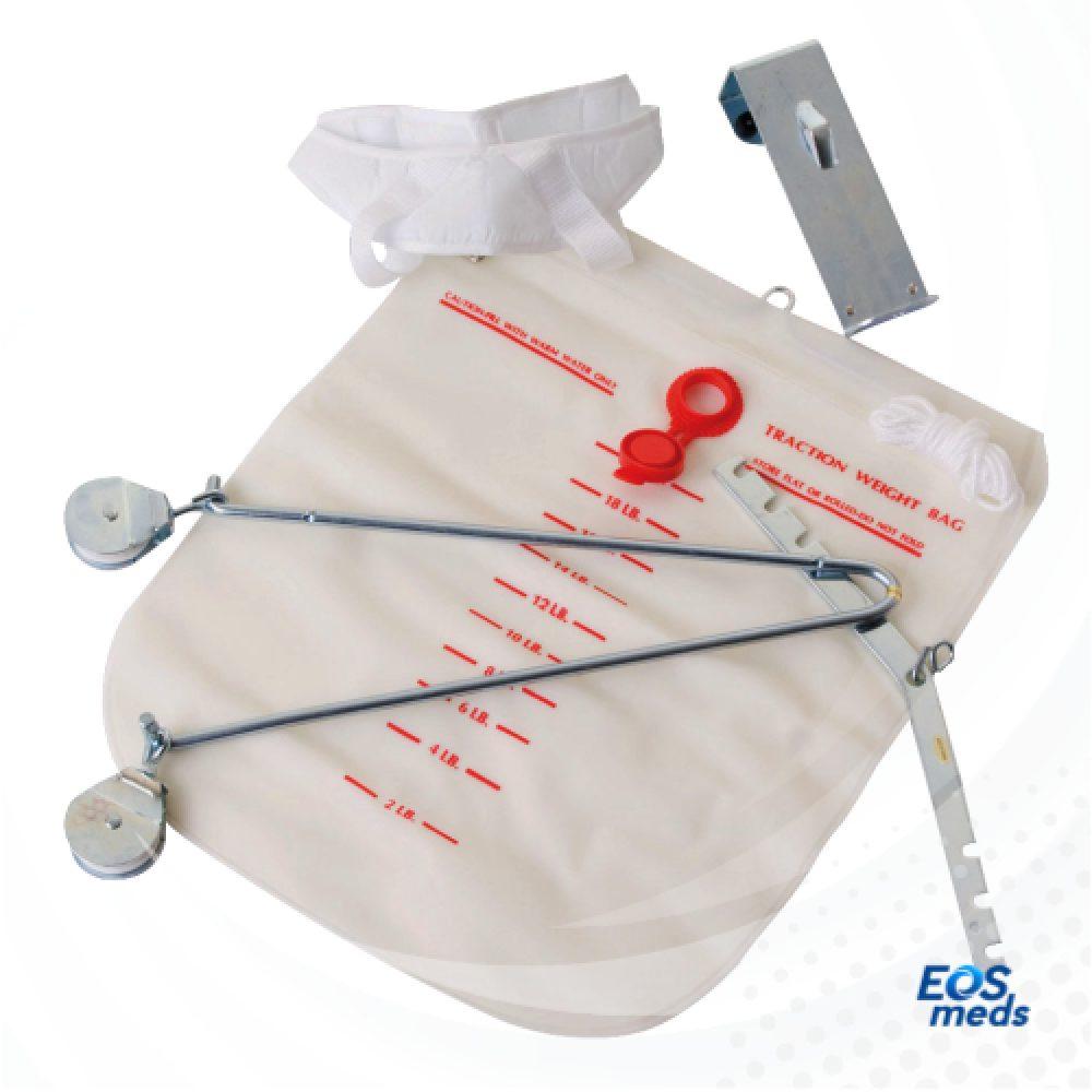 Aparato de Tracción Cervical para Puerta